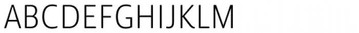 Lemon Sans Rounded Cond Light Font UPPERCASE