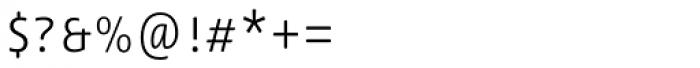 Lemon Sans Rounded Cond Uni Light Font OTHER CHARS