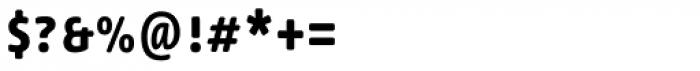 Lemon Sans Rounded Cond Uni Medium Font OTHER CHARS