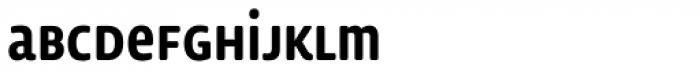 Lemon Sans Rounded Cond Uni Medium Font LOWERCASE