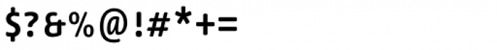 Lemon Sans Rounded Cond Uni Regular Font OTHER CHARS