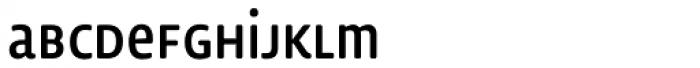 Lemon Sans Rounded Cond Uni Regular Font LOWERCASE