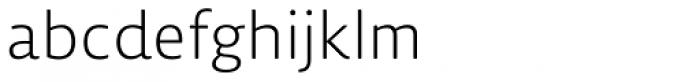 Lemon Sans Rounded Light Font LOWERCASE