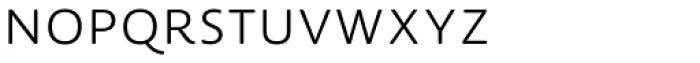 Lemon Sans Rounded Uni Light Font UPPERCASE