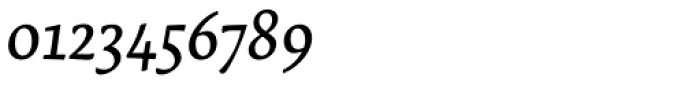Lemon Serif Italic Font OTHER CHARS