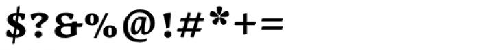 Lemon Serif Unicase Bold Font OTHER CHARS