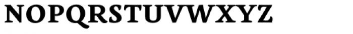 Lemon Serif Unicase Bold Font UPPERCASE