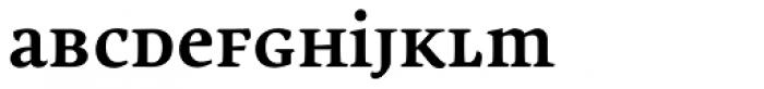 Lemon Serif Unicase Bold Font LOWERCASE