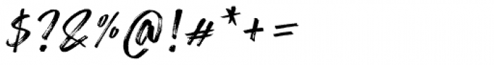 Lemonado Script Textured Italic Font OTHER CHARS