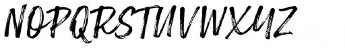 Lemonado Script Textured Italic Font UPPERCASE