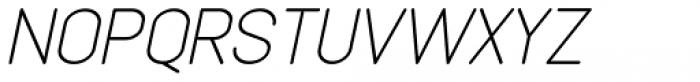 Lemonite Italic Font UPPERCASE