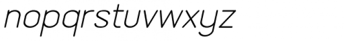 Lemonite Italic Font LOWERCASE