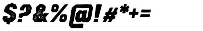 Lemoo Jozz Press Font OTHER CHARS
