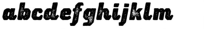 Lemoo Jozz Press Font LOWERCASE