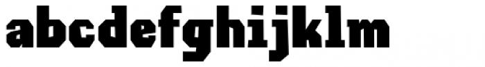 Lemoo Sans Font LOWERCASE