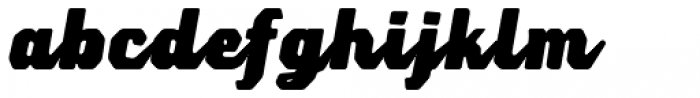 Lemoo Script Font LOWERCASE
