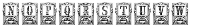 Lenda Font UPPERCASE
