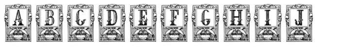 Lenda Font LOWERCASE