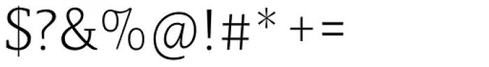 Lenga Light Thin Font OTHER CHARS