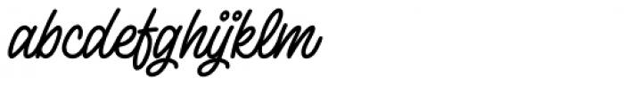 Lento Bold Font LOWERCASE