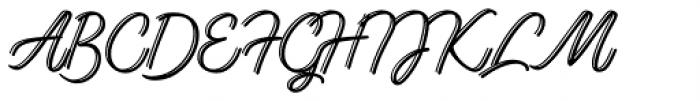Lento Display Font UPPERCASE