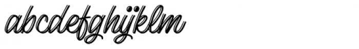Lento Display Font LOWERCASE