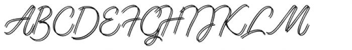 Lento Double Font UPPERCASE