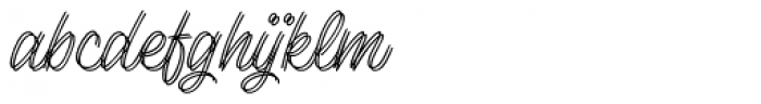 Lento Double Font LOWERCASE