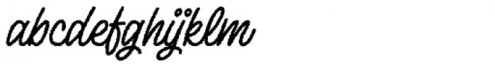 Lento Rough Font LOWERCASE