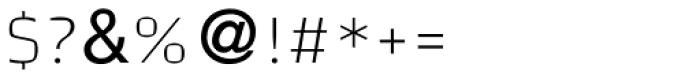 Leolam Lo Light Font OTHER CHARS