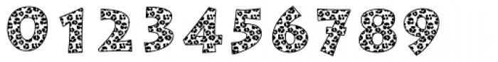 Leopard Skin Aarde Black Font OTHER CHARS