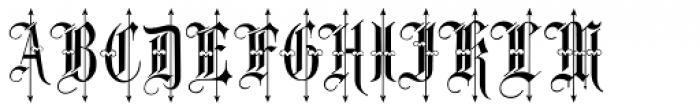 Leothric Medium Font LOWERCASE
