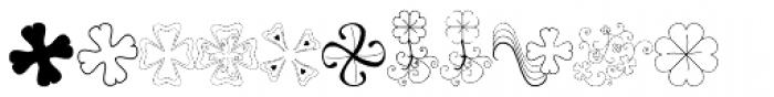 Leprechaun Vomit Font UPPERCASE