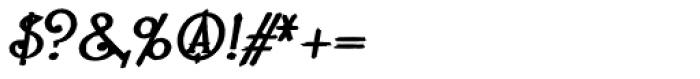 Lestatic Carved Oblique Font OTHER CHARS