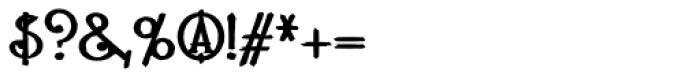 Lestatic Carved Font OTHER CHARS