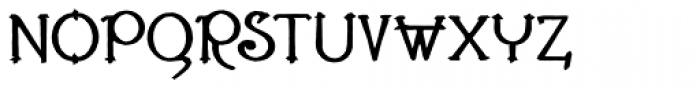 Lestatic Carved Font UPPERCASE