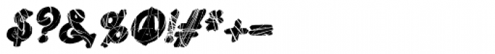 Lestatic Celerite Oblique Font OTHER CHARS
