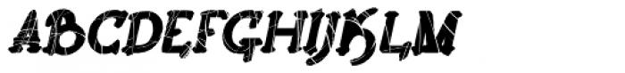 Lestatic Celerite Oblique Font UPPERCASE