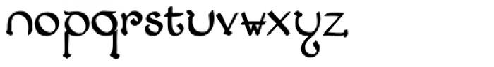 Lestatic Lashed Font LOWERCASE
