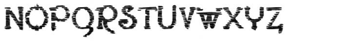 Lestatic Sliced Bold Font UPPERCASE