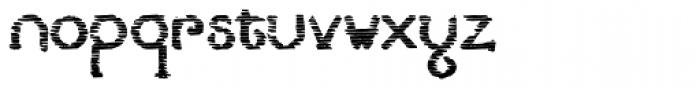 Lestatic Sliced Bold Font LOWERCASE