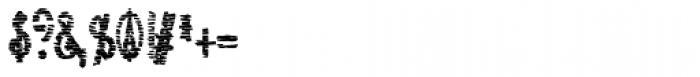 Lestatic Sliced Condensed Bold Font OTHER CHARS