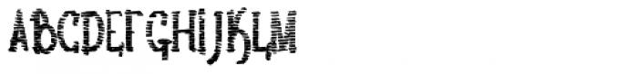 Lestatic Sliced Condensed Bold Font UPPERCASE