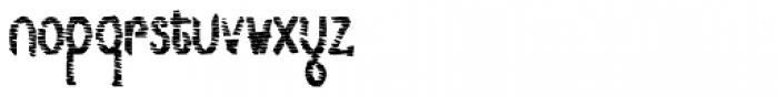 Lestatic Sliced Condensed Bold Font LOWERCASE