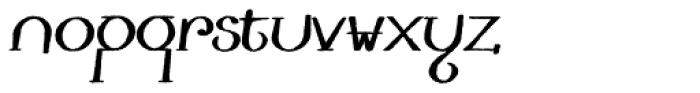 Lestatic Withered Bold Oblique Font LOWERCASE