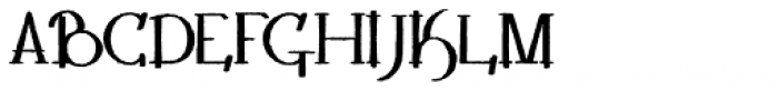 Lestatic Withered Bold Font UPPERCASE