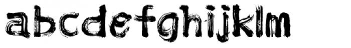 Lethal Fake Font LOWERCASE