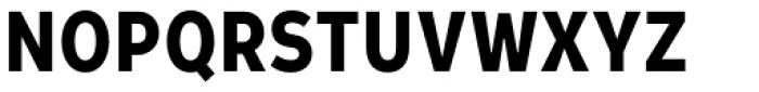 Leto Sans Condensed Bold Font UPPERCASE