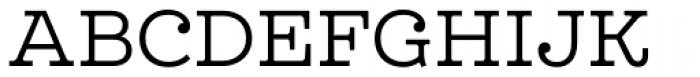 Leto Slab Light Font UPPERCASE