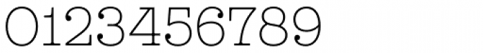 Leto Slab Narrow Thin Font OTHER CHARS